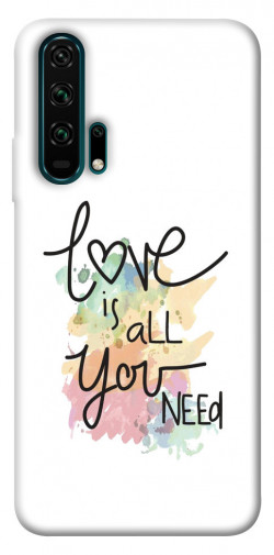 Чехол iPrint Love is all you need для Huawei Honor 20 Pro