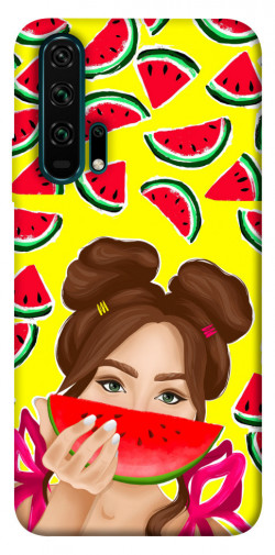 Чехол itsPrint Watermelon girl для Huawei Honor 20 Pro