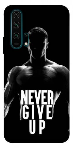 Чехол itsPrint Never give up для Huawei Honor 20 Pro