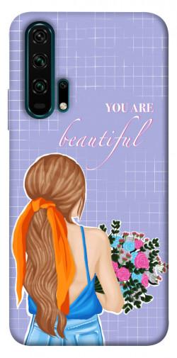 Чехол itsPrint You are beautiful для Huawei Honor 20 Pro