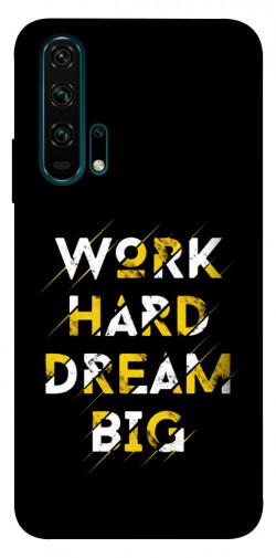 Чехол itsPrint Work hard для Huawei Honor 20 Pro