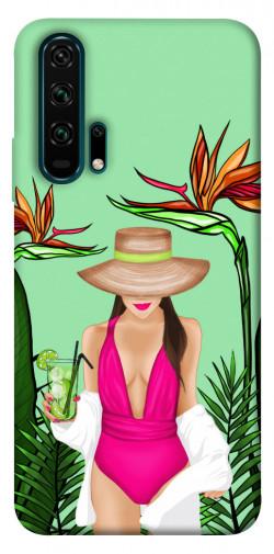 Чехол itsPrint Tropical girl для Huawei Honor 20 Pro