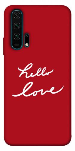 Чехол iPrint Hello love для Huawei Honor 20 Pro