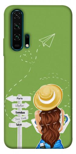 Чехол itsPrint Travel girl для Huawei Honor 20 Pro