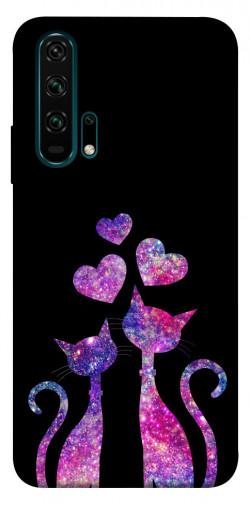 Чехол iPrint Космические коты для Huawei Honor 20 Pro