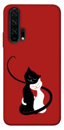 Чехол iPrint Влюбленные коты для Huawei Honor 20 Pro