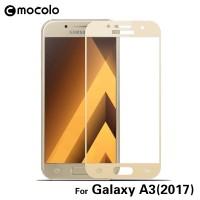 Защитное цветное 3D стекло Mocolo для Samsung A320 Galaxy A3 (2017)