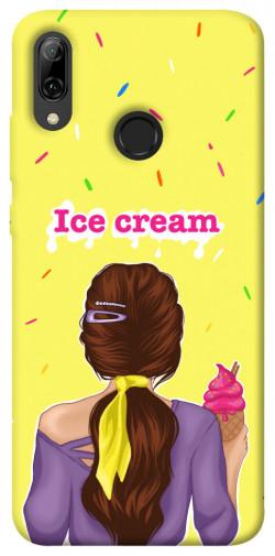 Чехол itsPrint Ice cream girl для Huawei P Smart (2019)