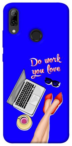 Чехол itsPrint Do work you love для Huawei P Smart (2019)
