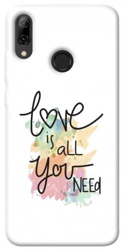 Чехол iPrint Love is all you need для Huawei P Smart (2019)