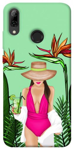Чехол itsPrint Tropical girl для Huawei P Smart (2019)