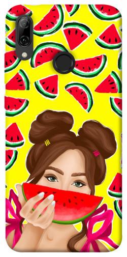 Чехол itsPrint Watermelon girl для Huawei P Smart (2019)