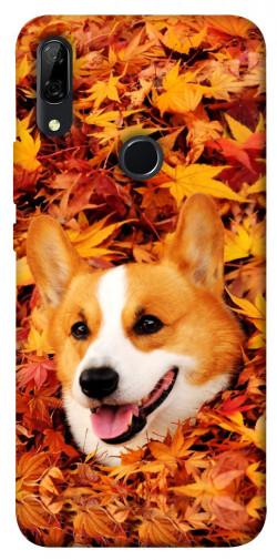 Чехол itsPrint Корги в листьях для Huawei P Smart Z