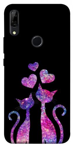 Чехол iPrint Комические коты для Huawei P Smart Z