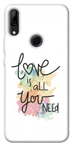 Чехол iPrint Love is all you need для Huawei P Smart Z