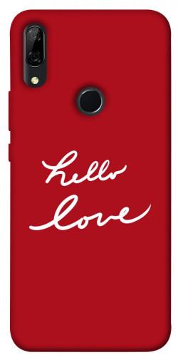 Чехол iPrint Hello love для Huawei P Smart Z