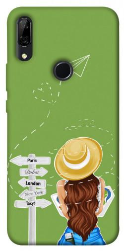 Чехол itsPrint Travel girl для Huawei P Smart Z