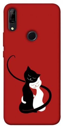Чехол iPrint Влюбленные коты для Huawei P Smart Z