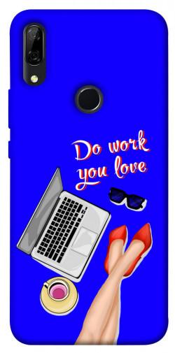Чехол itsPrint Do work you love для Huawei P Smart Z