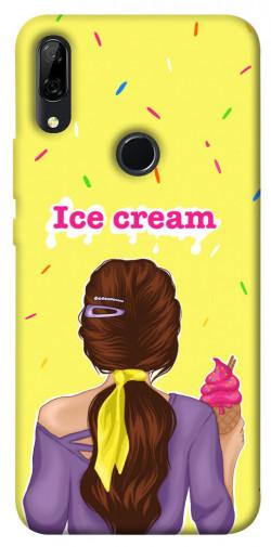 Чехол itsPrint Ice cream girl для Huawei P Smart Z
