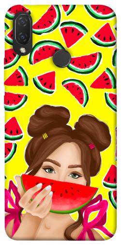 Чехол itsPrint Watermelon girl для Huawei P Smart+ 2019