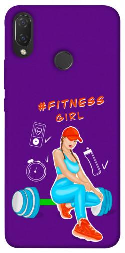 Чехол itsPrint Fitness girl для Huawei P Smart+ 2019