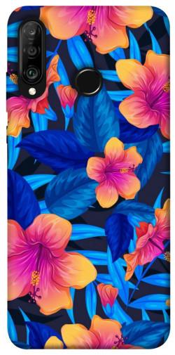 Чехол itsPrint Цветочная композиция для Huawei P30 lite