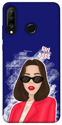 Чехол itsPrint Girl boss для Huawei P30 lite