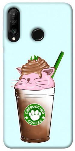 Чехол itsPrint Catpuccino для Huawei P30 lite