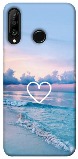 Чехол itsPrint Summer heart для Huawei P30 lite