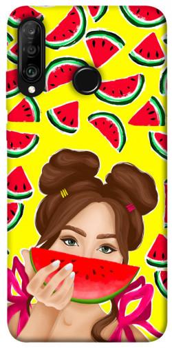 Чехол itsPrint Watermelon girl для Huawei P30 lite