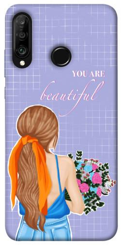 Чехол itsPrint You are beautiful для Huawei P30 lite
