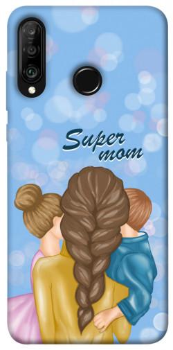 Чехол itsPrint Super mommy для Huawei P30 lite