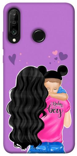 Чехол itsPrint Baby boy для Huawei P30 lite