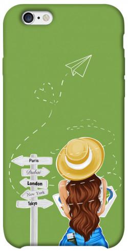 """Чехол itsPrint Travel girl для Apple iPhone 6/6s (4.7"""")"""