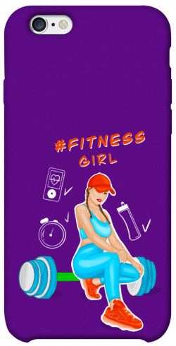 "Чехол itsPrint Fitness girl для Apple iPhone 6/6s (4.7"")"