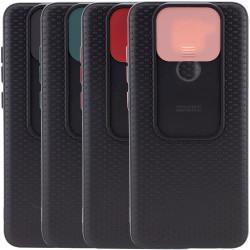 Чехол Camshield Black TPU со шторкой защищающей камеру для Xiaomi Redmi Note 9 / Redmi 10X