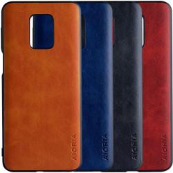 Кожаный чехол AIORIA Vintage для Xiaomi Redmi Note 9s / Note 9 Pro / Note 9 Pro Max