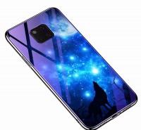TPU+Glass чехол Fantasy с глянцевыми торцами для Huawei Mate 20 Pro