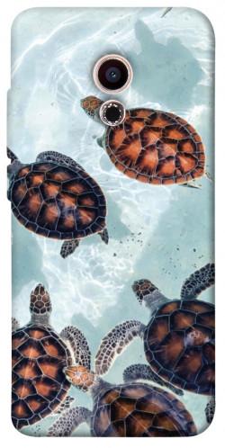 Чехол itsPrint Морские черепахи для Meizu Pro 6