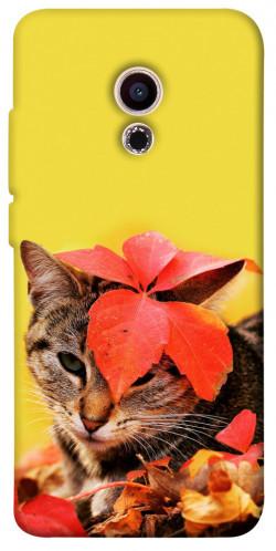Чехол itsPrint Осенний котик для Meizu Pro 6