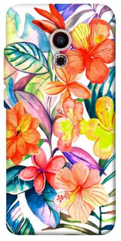 Чехол itsPrint Цветочный коктейль для Meizu Pro 6