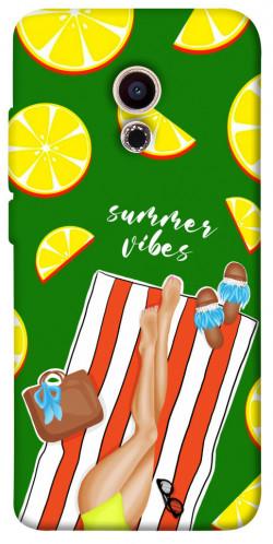 Чехол itsPrint Summer girl для Meizu Pro 6