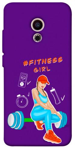 Чехол itsPrint Fitness girl для Meizu Pro 6
