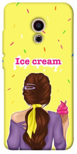Чехол itsPrint Ice cream girl для Meizu Pro 6