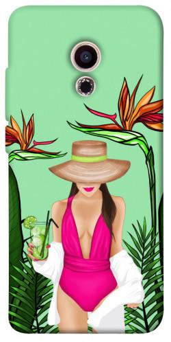 Чехол itsPrint Tropical girl для Meizu Pro 6