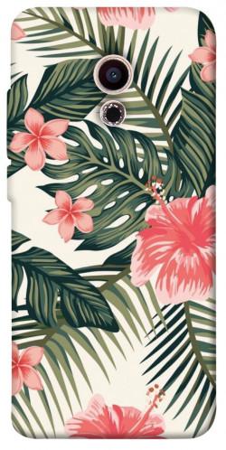 Чехол itsPrint Tropic flowers для Meizu Pro 6