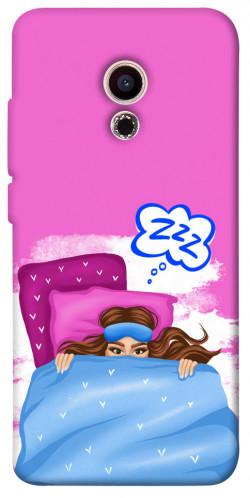 Чехол itsPrint Sleepу girl для Meizu Pro 6