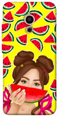 Чехол itsPrint Watermelon girl для Meizu Pro 6