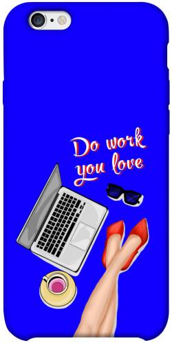 "Чехол itsPrint Do work you love для Apple iPhone 6/6s plus (5.5"")"